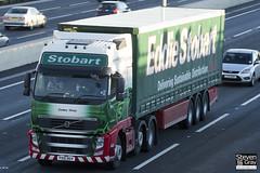 Volvo FH 6x2 Tractor - PX10 DGV - Codey Wray - Eddie Stobart - M1 J10 Luton - Steven Gray - IMG_0505