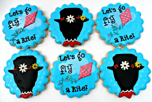 Mary Poppins 4 year old Party by Vicki's Sweets