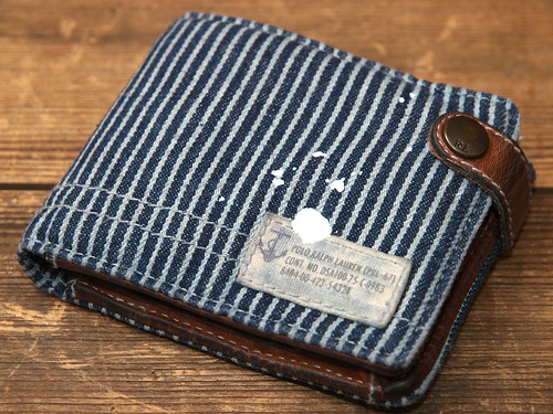 Ralph Lauren / Railroad Stripe Wallet