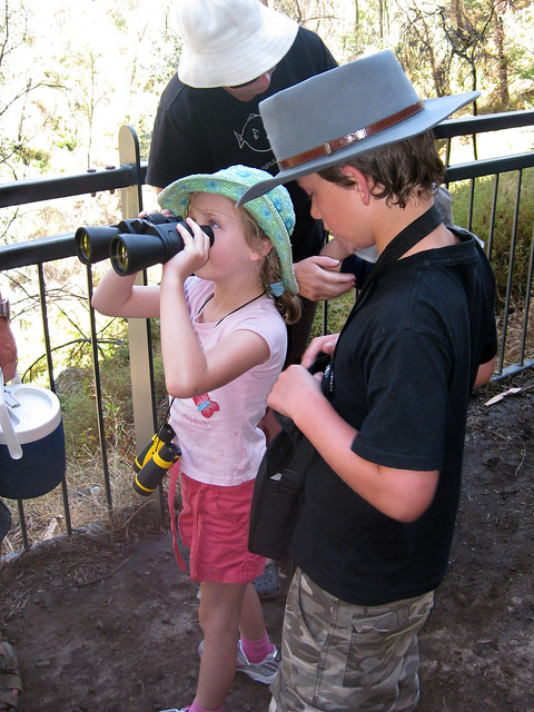 Why not get the kids their own binoculars?