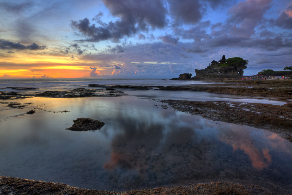 Tanah Lot Reflection