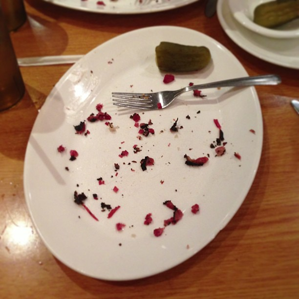 Clean plate!