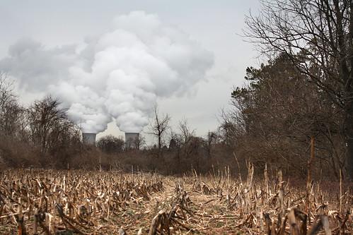 winter plant water field corn energy power pennsylvania farm nuclear uranium vapor limerick reactor businesscardchoice