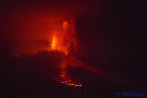 L'Etna dà spettacolo, quinta eruzione in pochi giorni$