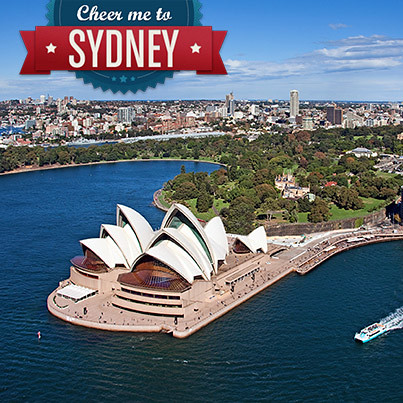 Runtastic: Cheer me to Sydney