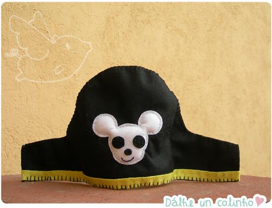 Gorro pirata de feltro