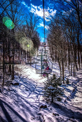 at the ski resort by DigiDreamGrafix.com