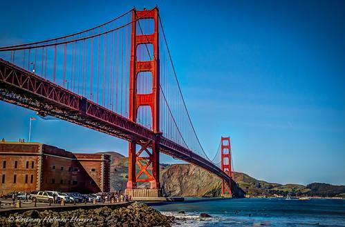 The Golden Gate Bridge !