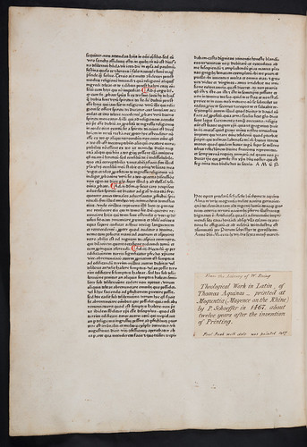 Colophon of Thomas Aquinas: Summa theologiae: Pars secunda: secunda pars