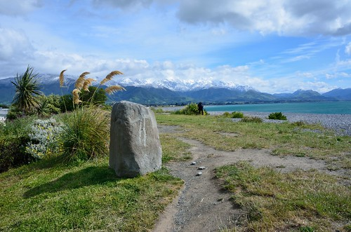 Stone in Kaikoura by kewl