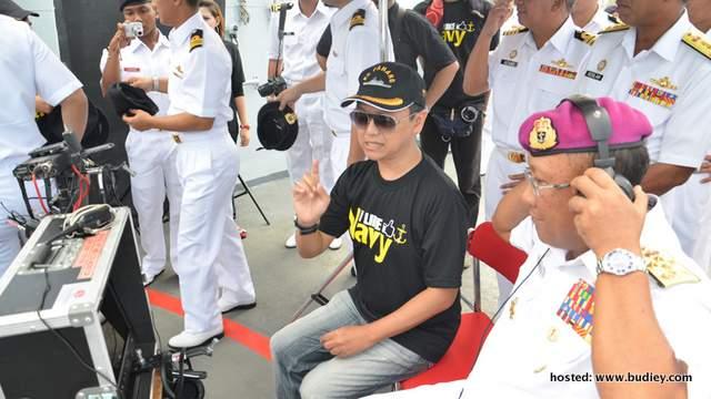 Aziz M.Osman ... pengarah Rentas Samudera