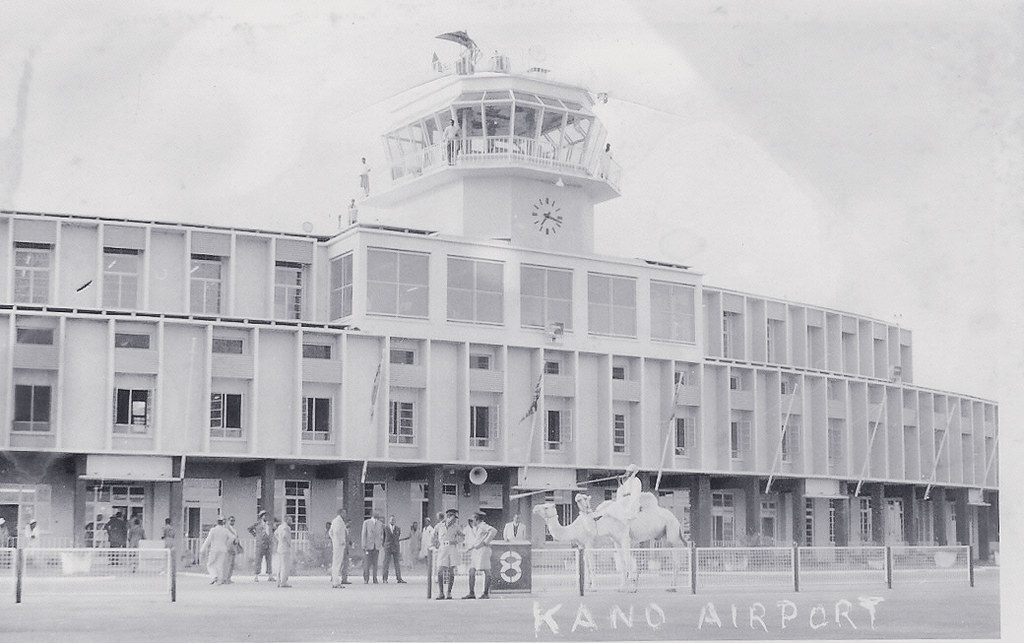 Picture of Kano Airport in 1958 (copyright Jaycee 1)
