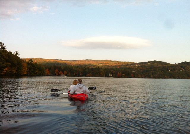 Sound Sunday: Cold water kayaking in N.H.