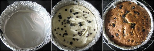 Blueberry Choco-chip Tea Cake-step6