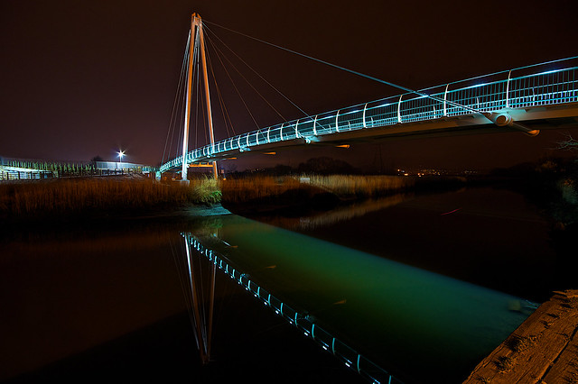 Newton Abbot's New Cycle Bridge