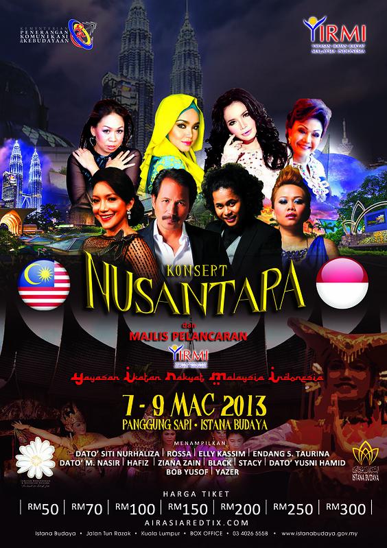 Konsert Nusantara di Istana Budaya