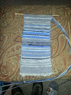Sky scarf, Jan-Feb 2013