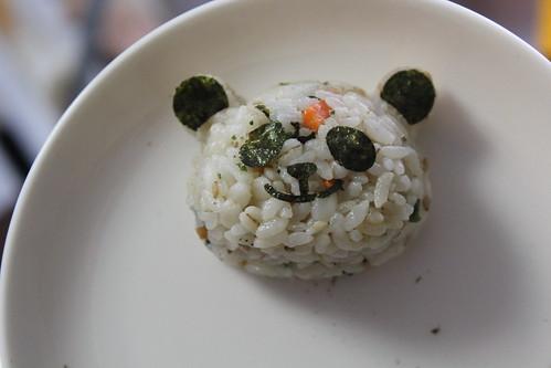 パンダおにぎりセット_パンダ