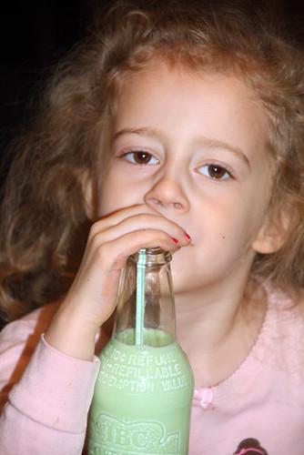 Auttie-trying-the-milk