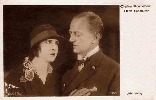 Claire Rommer, Otto Gebühr