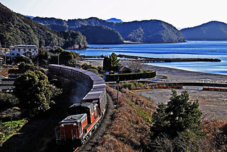 Diesel Locomotive in Kii Peninsula