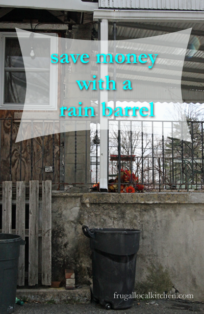Save Money With A Simple To Install Rain Barrel