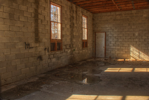 4:53 PM: Mount Airy Presbyterian Church Unfinished Interior
