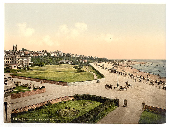 [The Esplanade, Exmouth, England]  (LOC)