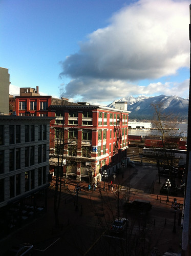 View from the XPCP office in Vancouver