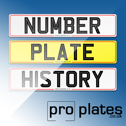 number plate overview