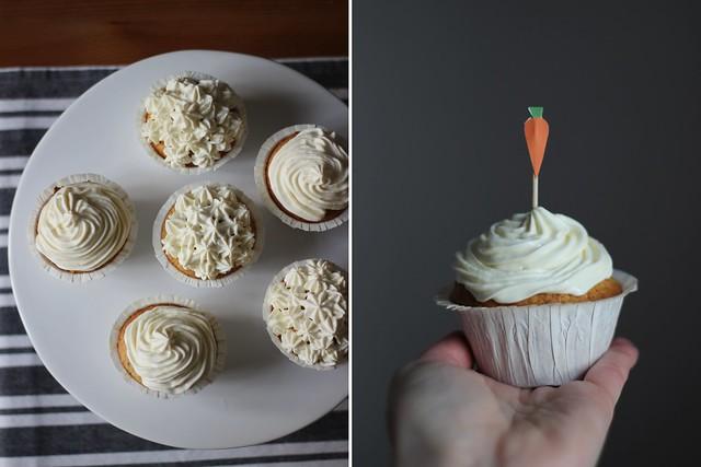 Food-♥: Carrot Cupcakes