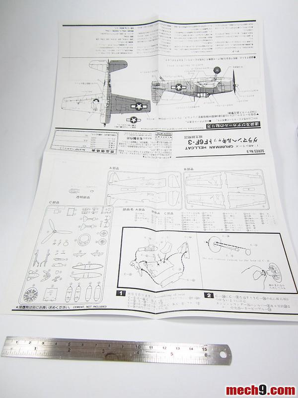 1/48 Arri Grumman F6F-3 Hellcat