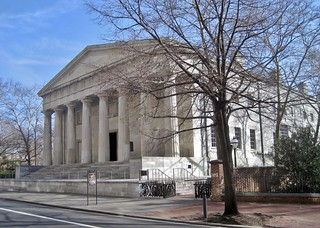 Image of Second Bank of the United States. philadelphia pennsylvania bank nationalhistoricalpark greekrevival 1810s williamstrickland
