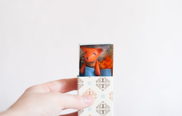 fox in a matchbox