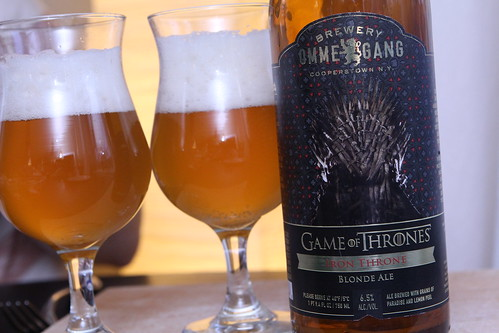 Brewery Ommegang Game of Thrones Iron Throne