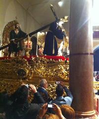 San Roque en su parroquia