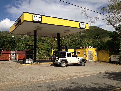 St. John Jeep and Gas Station