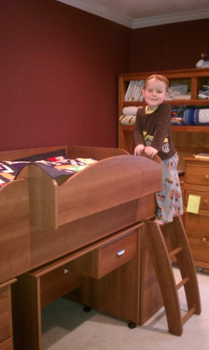 Big boy bed - it's a hit! by aviva_hadas (Amy)