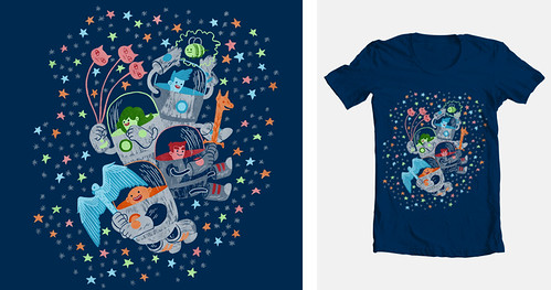 Bravest Warriors tshirt design