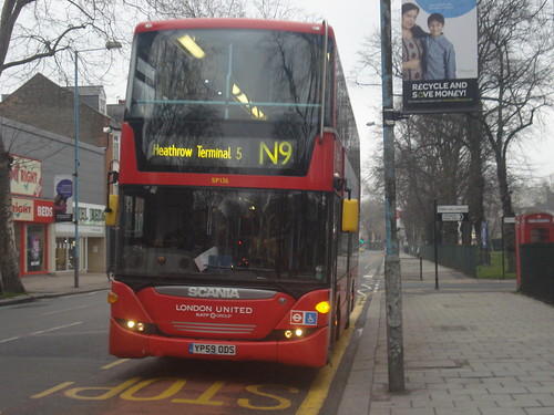 London United SP136 on Route N9