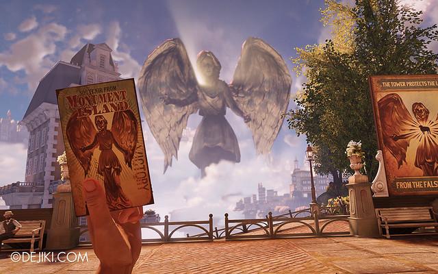 BioShock Infinite - Columbia statue