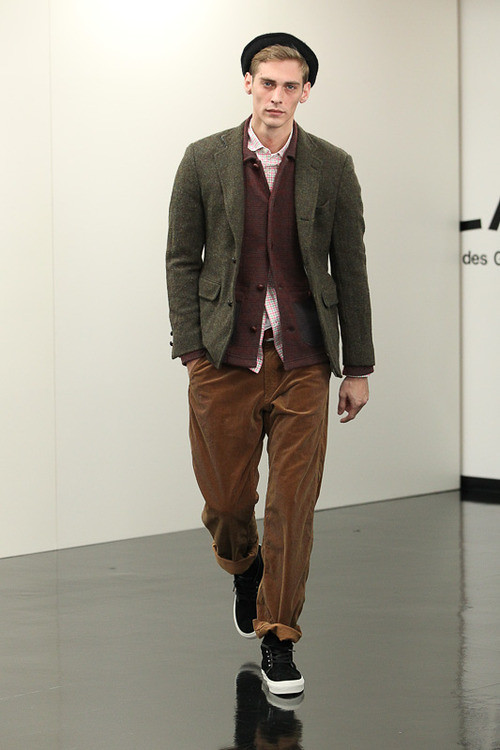 FW13 Tokyo COMME des GARCONS HOMME011_Jeremy Dufour(Fashionsnap)