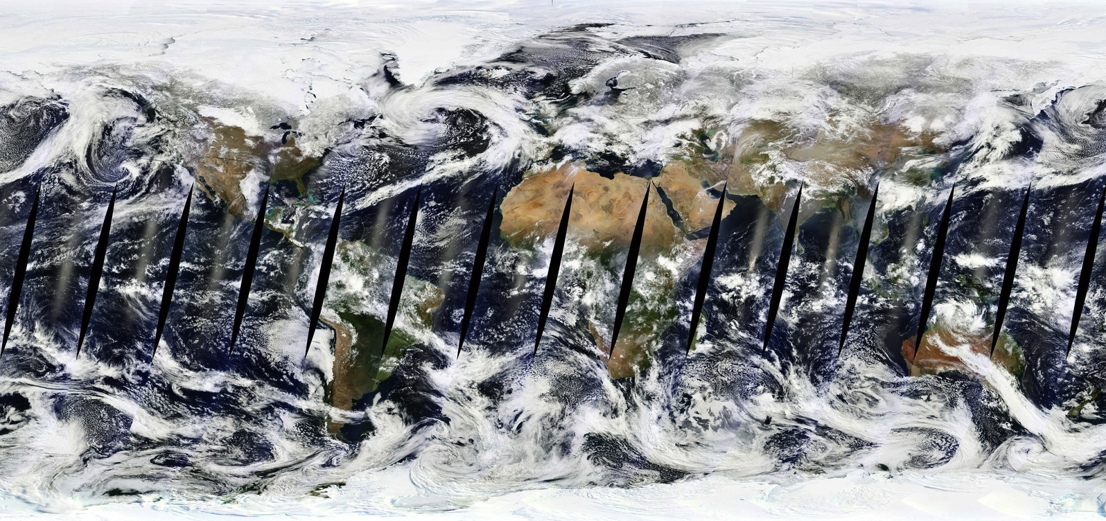 MODIS Terra composite for March 28th, 2013. Images: NASA