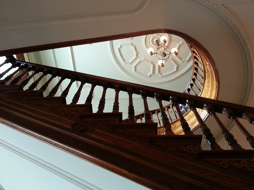 Staircase and Ceiling, Iolani Palace by ** Gudenius **