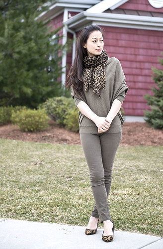Welcome to FABBYLIFE: AllSaints cowl neck sweater - olive green ...