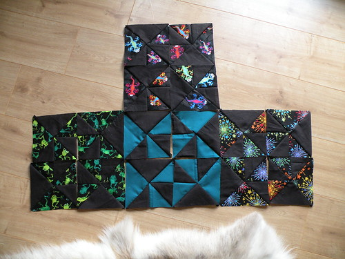 Play quilt begun