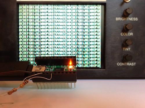AVR NTSC video generator