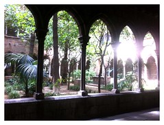 Foto del claustro de la Iglesia de Santa Ana