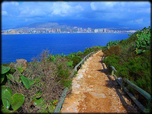 Scenic landscape of Benidorm - Flickr CC sky_hlv