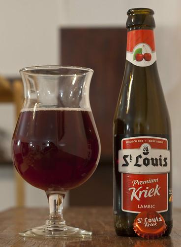 Review: St Louis Kriek Lambic by Cody La Bière